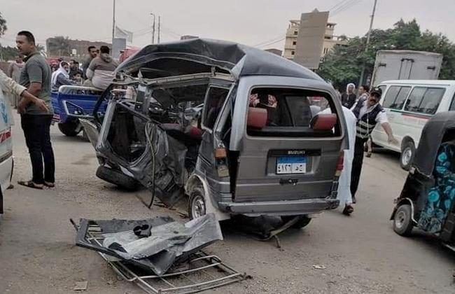 حادث مروع في المنيا مصر