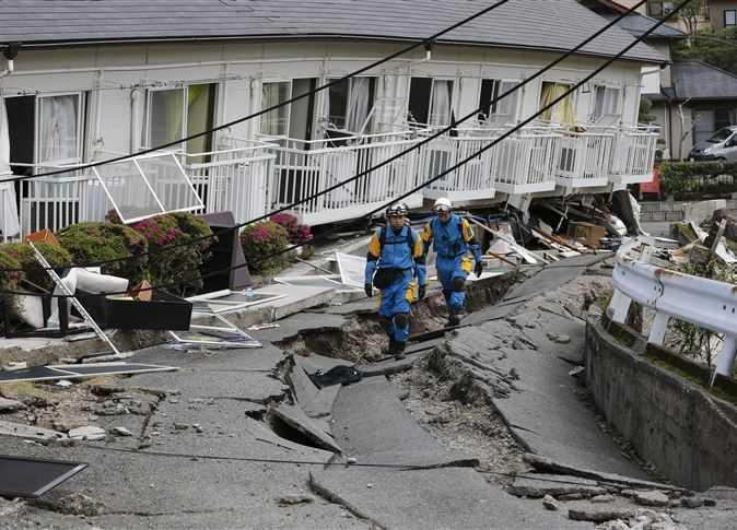 """""""أخبار العالم"""" زلزال في اليابان"""