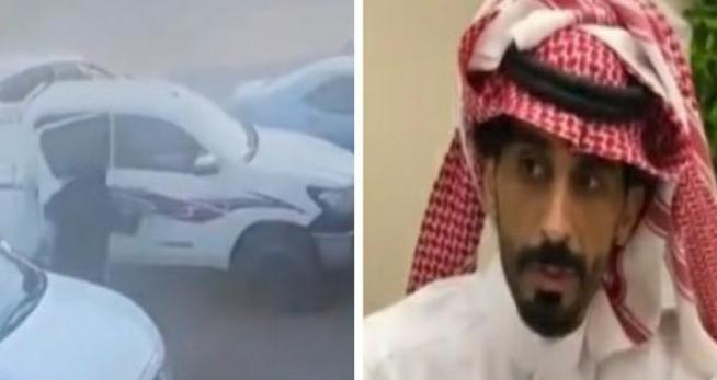 شاب سعودي ينقذ عائلة من مصير مأساوي