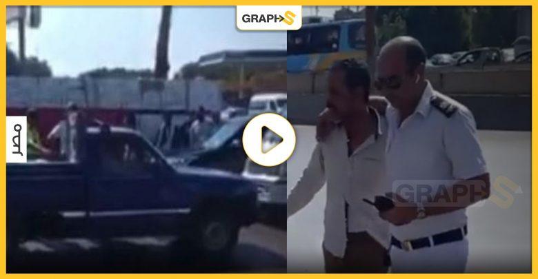 بالفيديو|| جنون على الطريق الدائري.. الشرطة تطارد سيارة لمدة 30 دقيقة تتحرك عكس السير وبسرعة جنونية كأنها مشهد هوليوودي