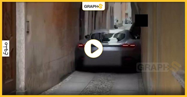 سيارة فيراري روما حديثة
