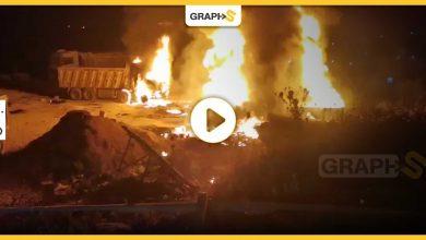 انفجار صهريج وقود في عكار