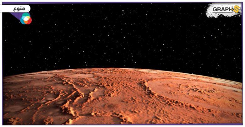 """علماء الفضاء: صخور """"العنب البري'' على سطح المريخ يمكن أن تحتوي على الماء"""