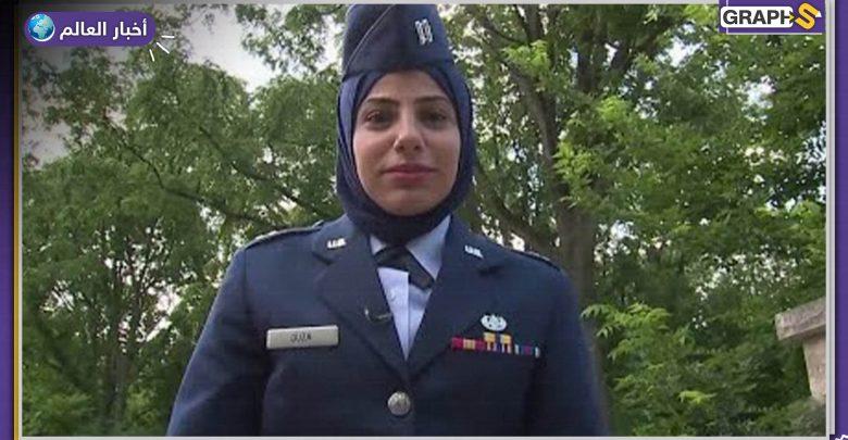 أول مسلمة سلاح الجو الأمريكي