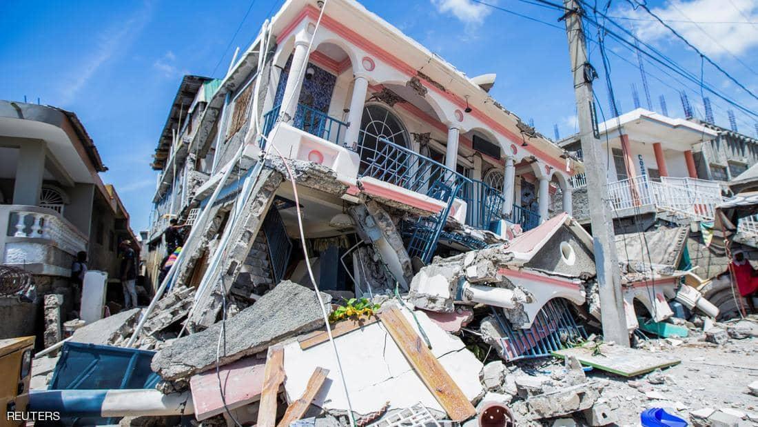 """""""أخبار العالم"""" زلزال مدمر يضرب هايتي.. انفجاريين مدويين يهزان عكار في لبنان.. ارتفاع حصيلة ضحايا فيضانات تركيا إلى 57 شخص"""