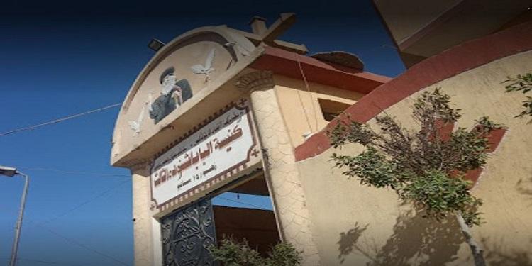 """شاهد: ظواهر غير اعتيادية تثير الجدل في كنيسة مصرية ..""""حمام روحاني ومعجزة العذراء"""""""