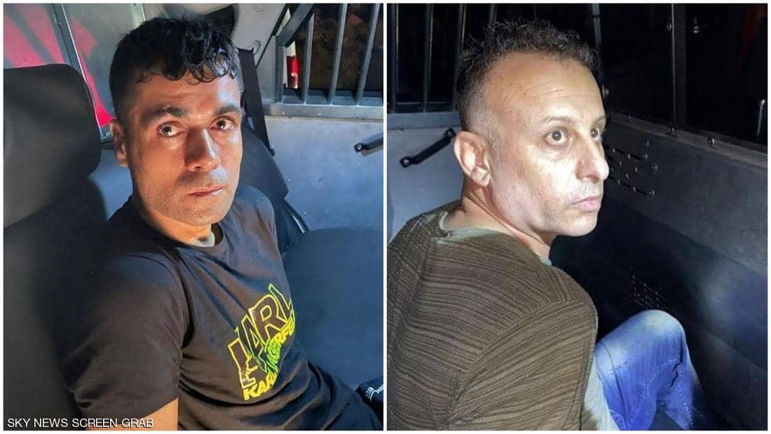 """بالفيديو والصور   قوات الاحتلال الإسرائيلي تلقي القبض على 4 أسرى من الـ 6 الهاربين من سجن """"جلبوع"""".. بينهم القيادي زكريا الزبيدي"""