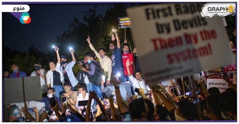 واقعةٌمأساوية تهز الهند.. الاعتداء على فتاة صغيرة من قبل 33 رجلاً والشارع الهندي يشتعل غضبا