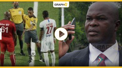 بالفيديو|| نائب رئيس دولة يقود فريقه بمباراة وهو في الـ 60 من العمر.. لينتهي اللقاء بنتيجةٍ مفاجئة ومثيرةٍ للجدل