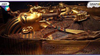 """""""أجمل وأغلى القطع الأثرية"""" قناع الملك الفرعوني توت عنخ آمون.. تحفةٌ لا مثيل لها ودقةٌ في التصنيع عجز العلم عن تفسيرها - فيديو وصور"""