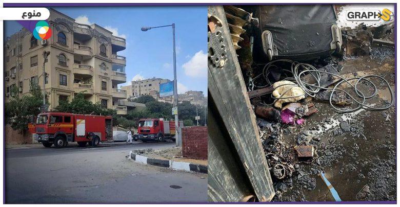 حريقٌ هائل يلتهم منزل الفنان المصري شريف منير..تفحم بالكامل والسبب سيجارة