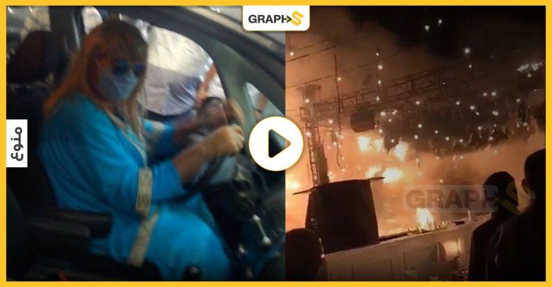 بالفيديو   رجل يتنكر بزي امرأة للحصول على البنزين في لبنان.. وحريق هائل يحول حفل زفاف إلى كارثة في المكسيك