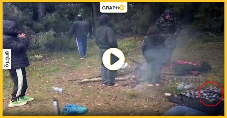 """نتيجة """"الإهمال والمعاملة السيئة"""".. امرأة عراقية تلقى حتفها على الحدود البولندية البيلاروسية وزوجها يروي التفاصيل.. فيديو وصور"""