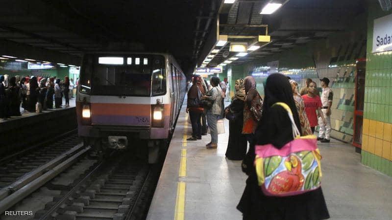 حادثة مروعة تهز مصر..سيدة تنهي حياتها تحت عجلات المترو.. الحالة الرابعة من نوعها في أقل من شهر