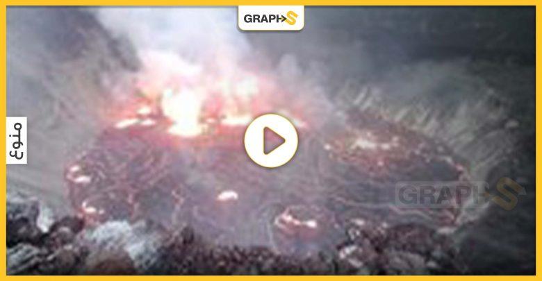 عقب ثوران بركان في جزيرة لا بالما الإسبانية بركان آخر