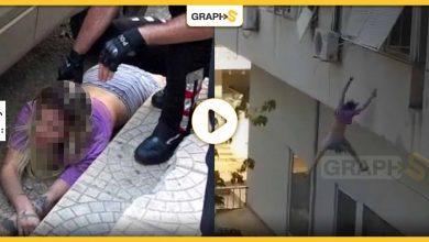 هرباً من بيعها بسوق النخاسة .. فتاة تركية تهرب من الخاطفين برمي نفسها من على شرفة منزل عالٍ -فيديو
