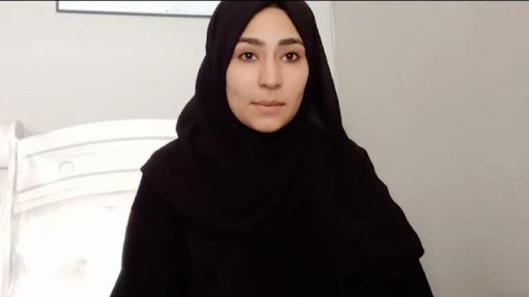 """بالفيديو   آخر رسالة وداع لفتاة اليوتيوبر الأفغانية """"نجمة صادقي"""" قبل أن تلقى مصرعها أثناء محاولتها الهروب"""