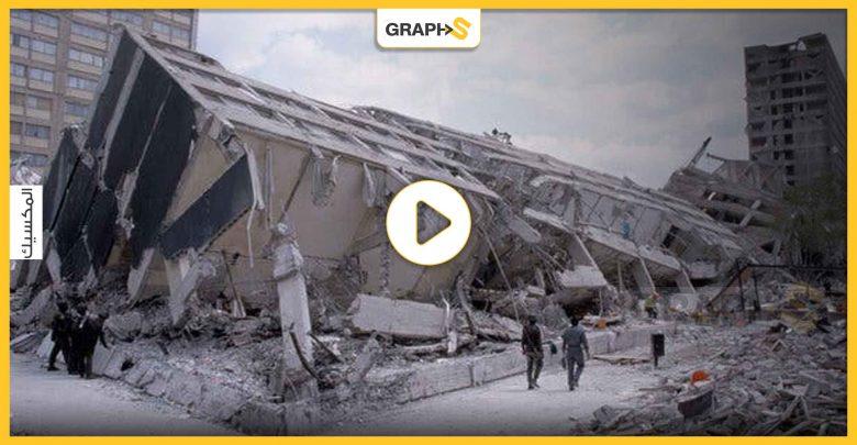 زلزال ضرب المكسيك