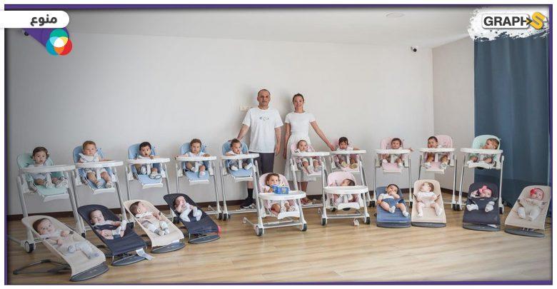 أم روسية تبلغ من العمر 24 عاما تنجب 22 صغيرا.. فهل هي أصغر أم لأكبر عائلة في العالم؟