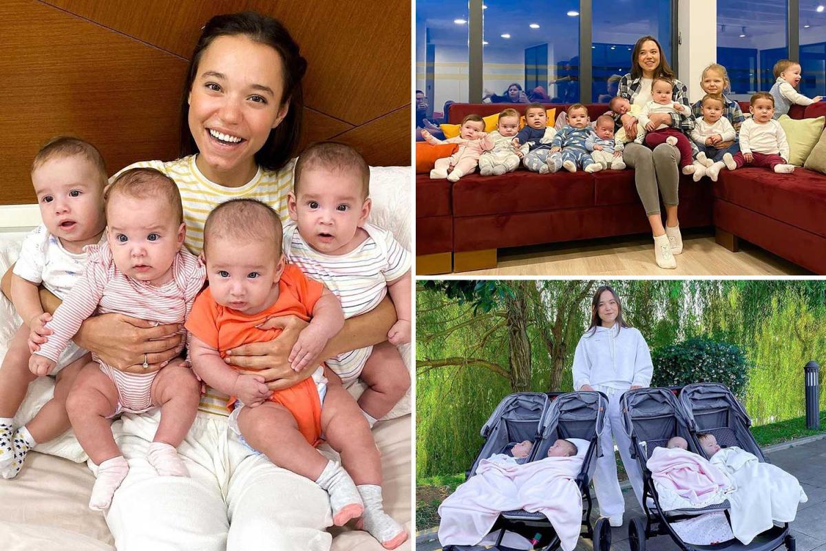 أم روسية تبلغ من العمر 24 عاما تنجب 22 صغيرا.. فهل هي أصغر أم لعائلة كبيرة في العالم؟