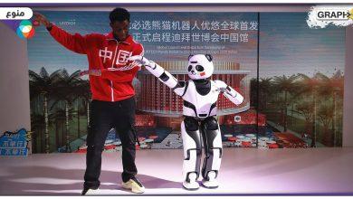 """""""يؤدي الرقصات ويلعب التاي شي""""..تعرف على روبوت الباندا الذي صنع خصيصاً لزوار """"إكسبو دبي 2020"""""""