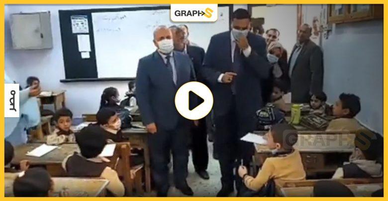 """بالفيديو   مصر: واقعة """"صغير الدقهلية"""" مع مسؤول كبير في أول أيام الدراسة.. ووالده يوضح سبب تصرفه الغريب"""