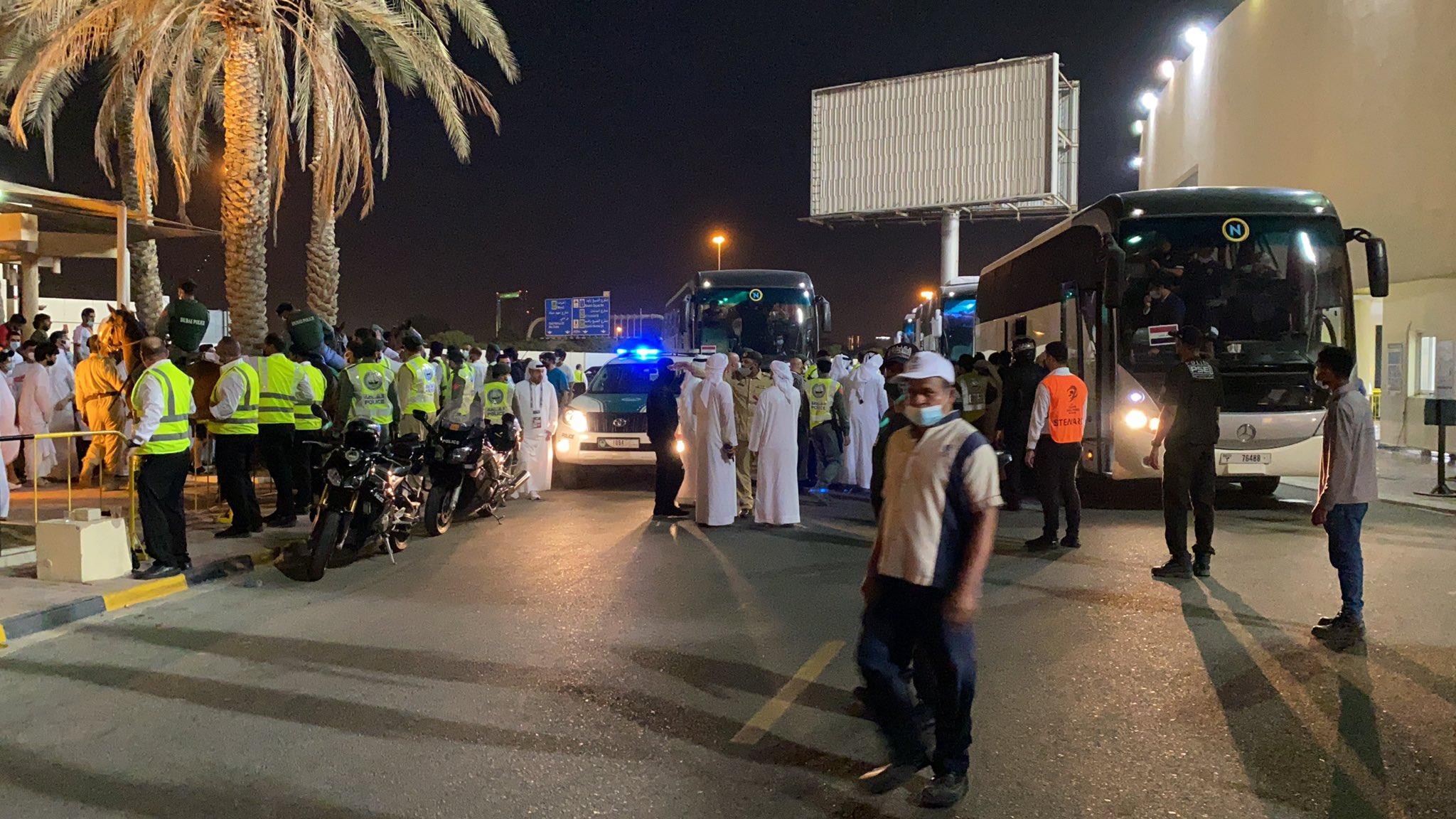 """بالفيديو   إشكال بين لاعبين عراقيين وجمهورهم في الإمارات.. وأغرب رياضة ممكن أن تسمع بها لعبة """"الكونكر"""""""