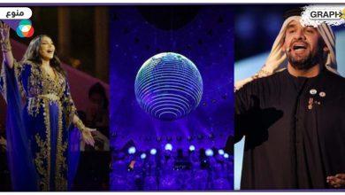 """افتتاح أسطوري في """"إكسبو دبي 2020"""" على مستوى العالم وأحلام تفاجئ الجمهور وتغني بـعدة لغات"""