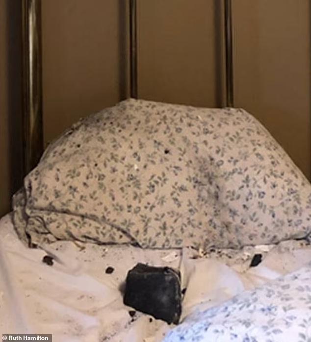 بالفيديو|| لحظة نجاة جندي أمريكي من الموت محقق دهساً.. وسقوط نيزك من الفضاء على على غرفة نوم امرأة بريطانية