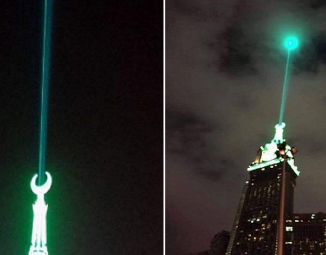 مع اقتراب المولد النبوي الشريف تعرف إلى حقيقة احتفال برج الساعة بالسعودية به