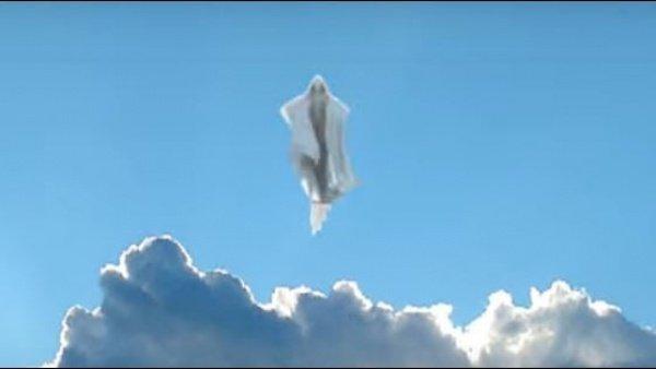 """حقيقة ظهور """"المسيح الدجال"""" في هذا البلد العربي.. رجل من نور يشق الغيوم ويظهر للجميع - فيديو"""